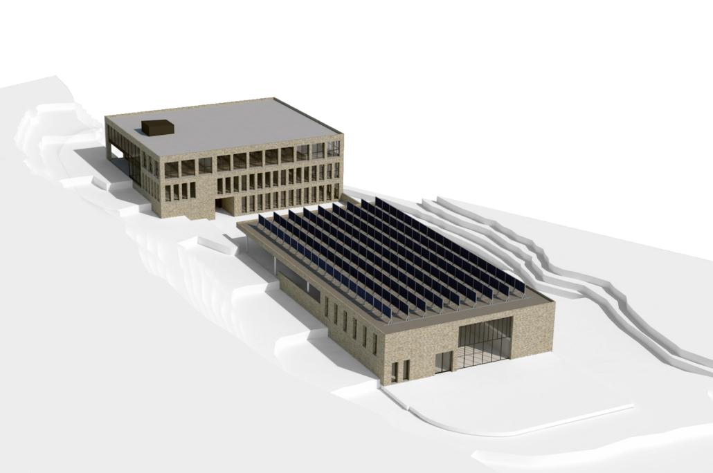 Flims Electric AG Neubau