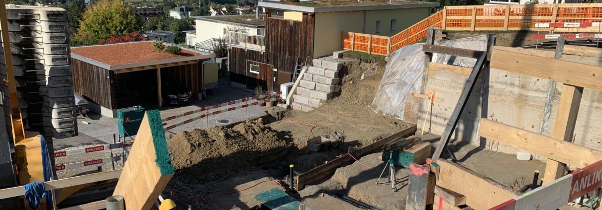 Baustelle Wohnhaus Merhof